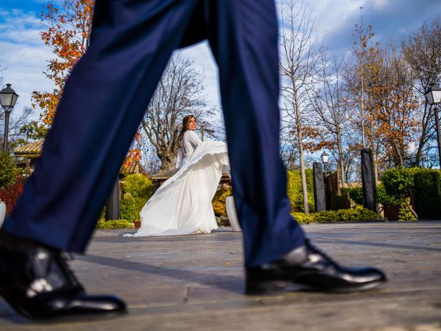 La boda de Alberto y Belén en Miraflores De La Sierra, Madrid 13