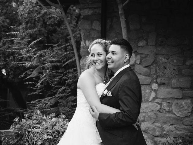 La boda de David y Clàudia en Vilanova De Meia, Lleida 39