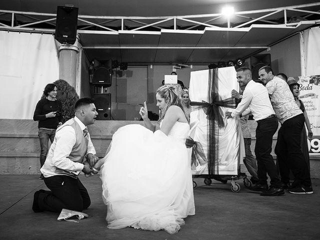 La boda de David y Clàudia en Vilanova De Meia, Lleida 45