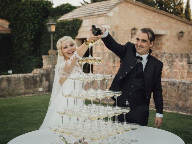 La boda de Gerardo y Isabel en Ayllon, Segovia 59