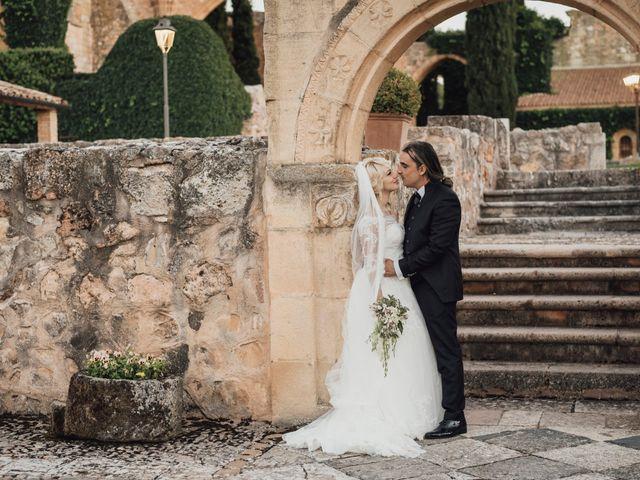 La boda de Gerardo y Isabel en Ayllon, Segovia 70