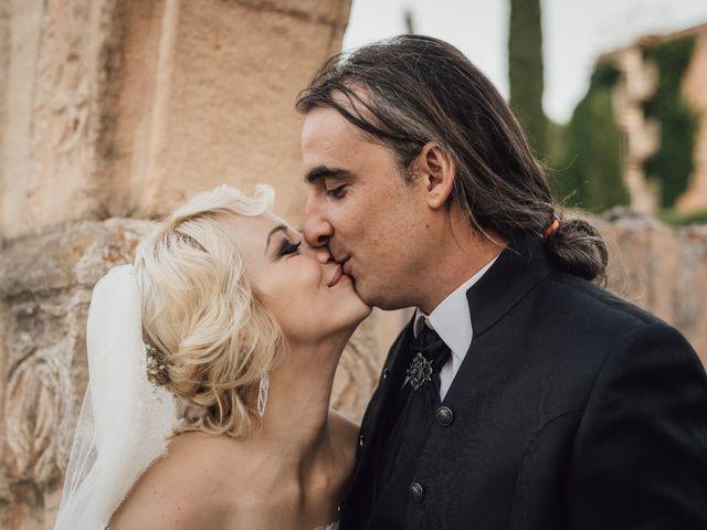 La boda de Gerardo y Isabel en Ayllon, Segovia 72