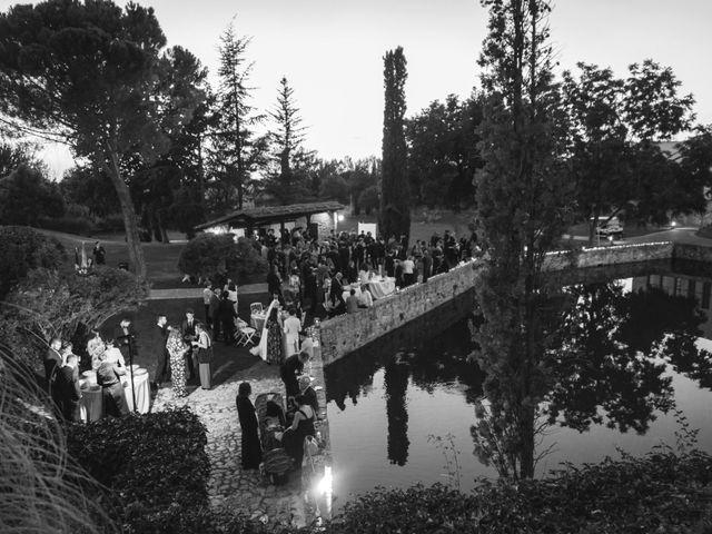 La boda de Gerardo y Isabel en Ayllon, Segovia 76