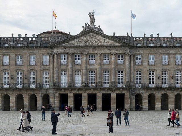 La boda de Adrián y Clara en Santiago De Compostela, A Coruña 6