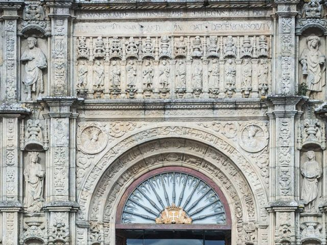 La boda de Adrián y Clara en Santiago De Compostela, A Coruña 7