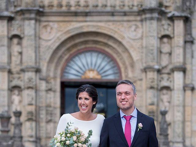La boda de Adrián y Clara en Santiago De Compostela, A Coruña 8