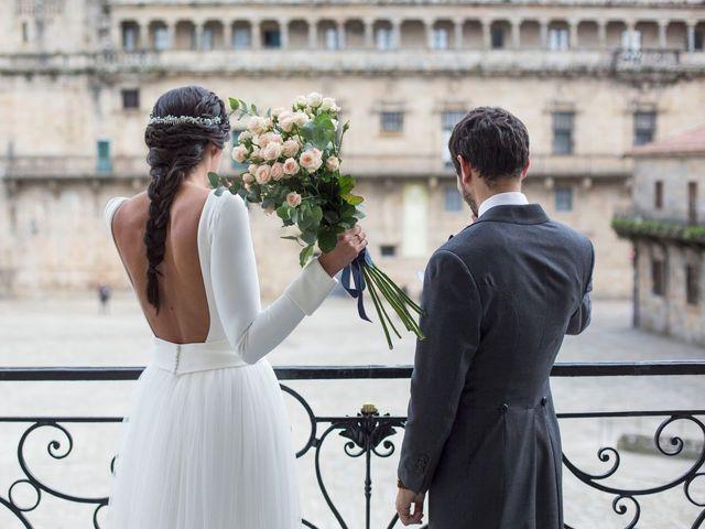 La boda de Adrián y Clara en Santiago De Compostela, A Coruña 35