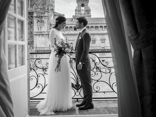 La boda de Adrián y Clara en Santiago De Compostela, A Coruña 36