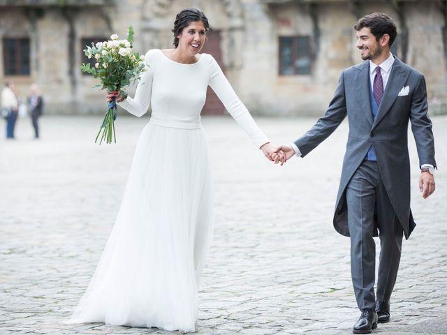 La boda de Adrián y Clara en Santiago De Compostela, A Coruña 38