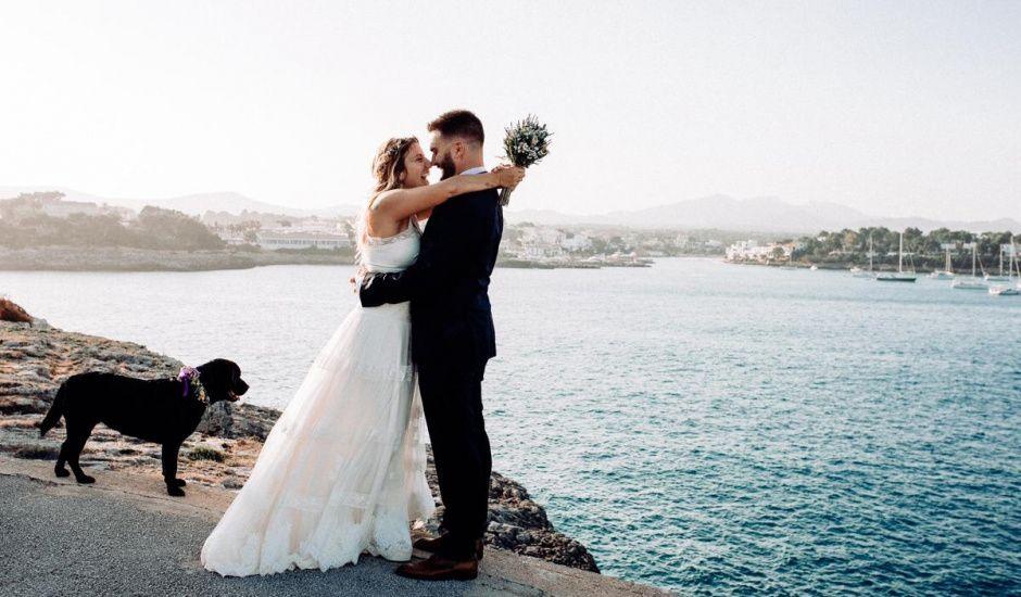 La boda de Toni y Victoria en Portopetro, Islas Baleares