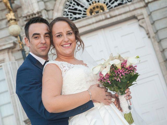 La boda de Amaya y David