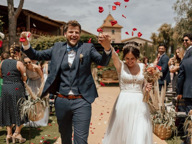 La boda de Marc y Bea en Bigues, Barcelona 1