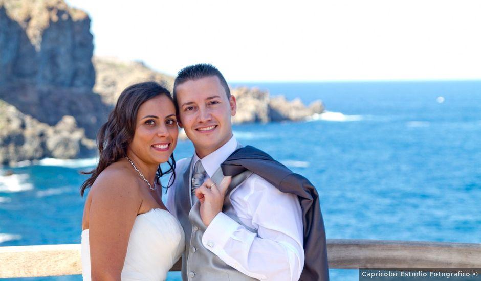 La boda de Josafat y Esther en La Perdoma, Santa Cruz de Tenerife