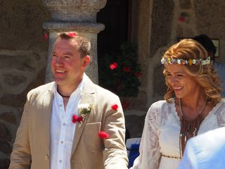 La boda de Lia y David