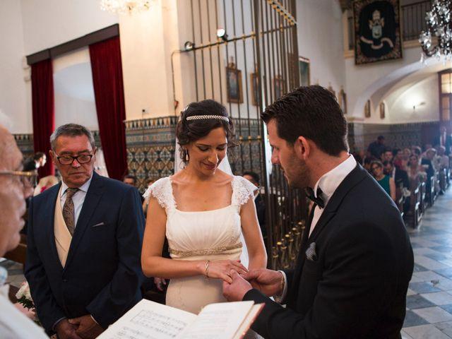 La boda de Javi y Mamen en Aceuchal, Badajoz 28