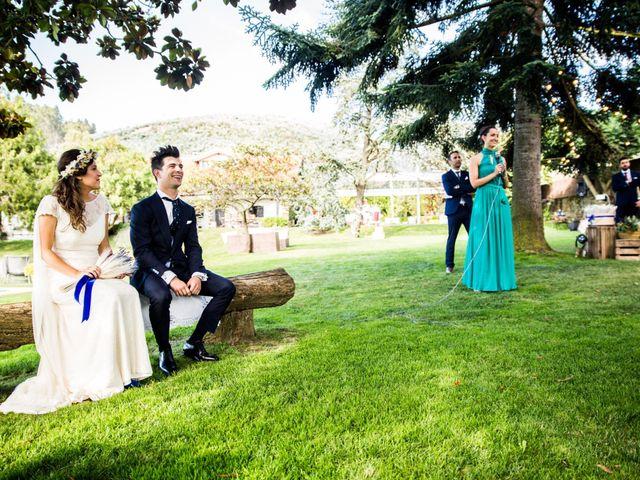La boda de Txaber y Miren en Berango, Vizcaya 92