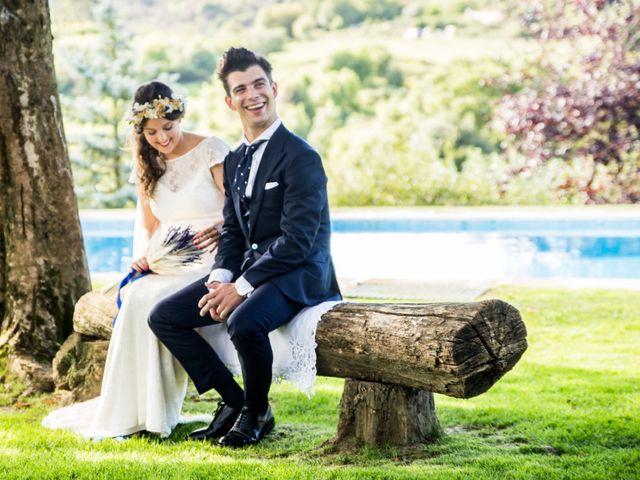 La boda de Txaber y Miren en Berango, Vizcaya 97