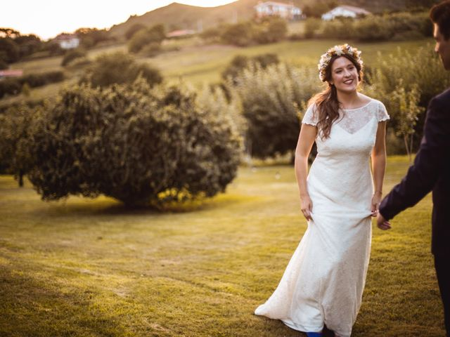 La boda de Txaber y Miren en Berango, Vizcaya 130