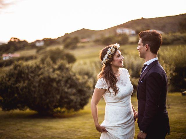 La boda de Txaber y Miren en Berango, Vizcaya 132