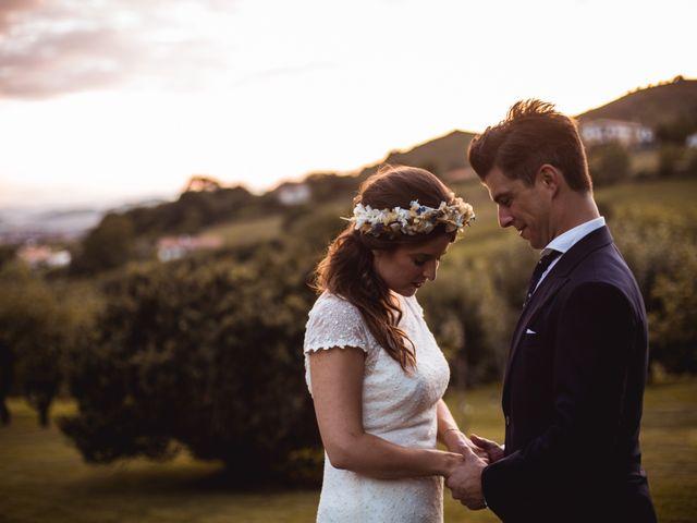 La boda de Txaber y Miren en Berango, Vizcaya 134