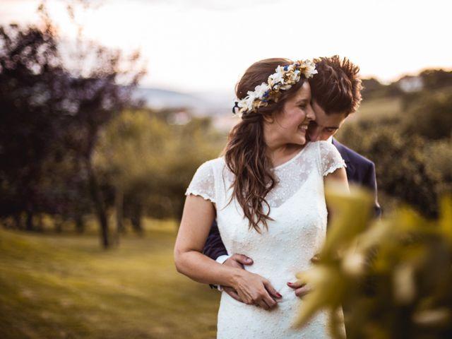 La boda de Miren y Txaber