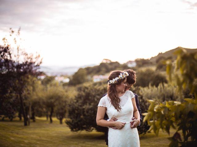 La boda de Txaber y Miren en Berango, Vizcaya 136