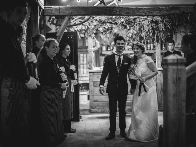 La boda de Txaber y Miren en Berango, Vizcaya 139