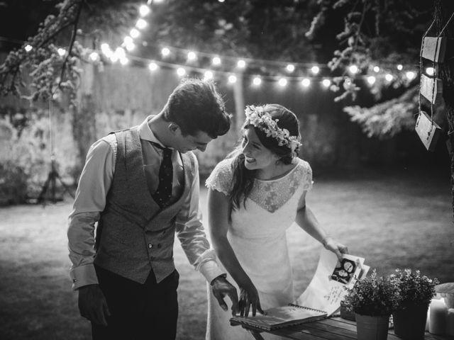 La boda de Txaber y Miren en Berango, Vizcaya 165