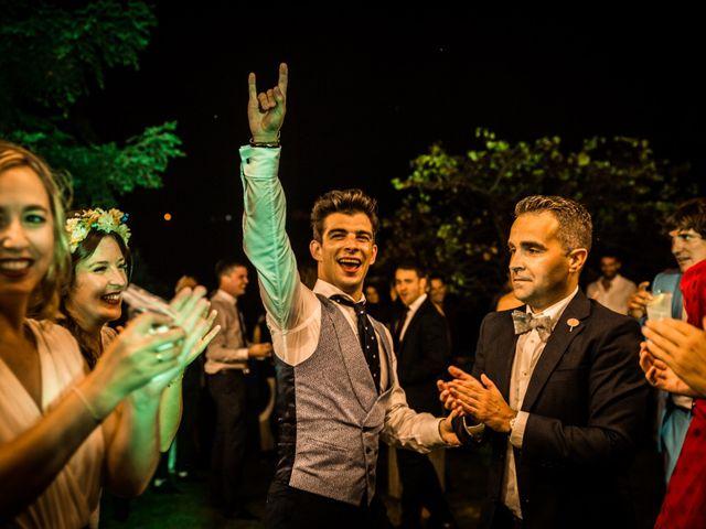 La boda de Txaber y Miren en Berango, Vizcaya 174