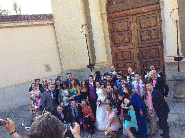 La boda de Nerea y David en Segovia, Segovia 12