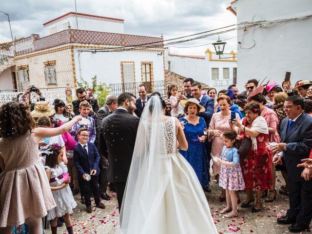 La boda de Jose Manuel y María Dolores en Encinasola, Huelva 54