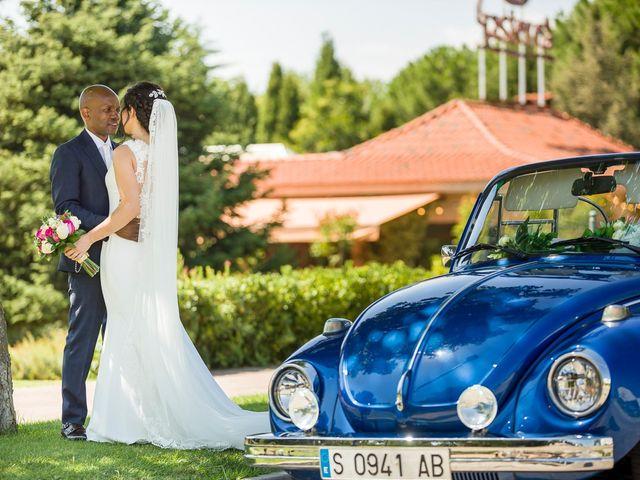 La boda de Marta y Nyarie
