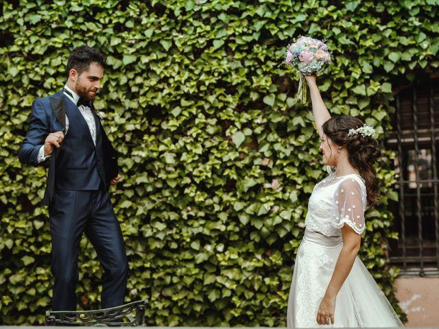 La boda de Laura y Uri en La Garriga, Barcelona 1