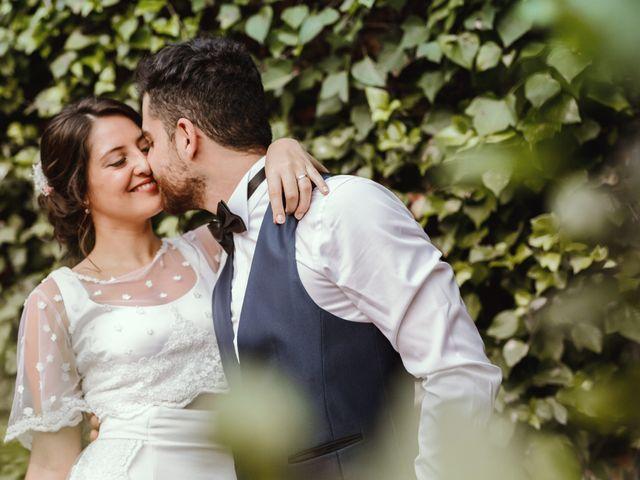 La boda de Laura y Uri en La Garriga, Barcelona 2