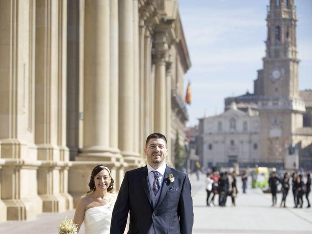 La boda de Jorge y Maria en Zaragoza, Zaragoza 14