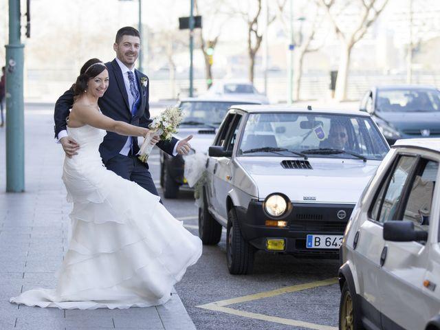 La boda de Jorge y Maria en Zaragoza, Zaragoza 17