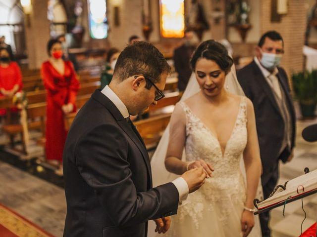 La boda de Mélanie y José Antonio en Pozo Alcon, Jaén 2