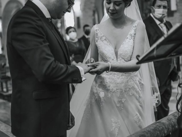 La boda de Mélanie y José Antonio en Pozo Alcon, Jaén 4