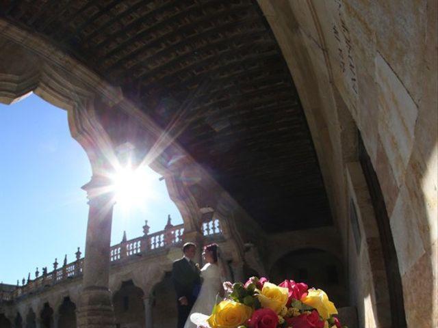 La boda de Alfredo  y María en Salamanca, Salamanca 19