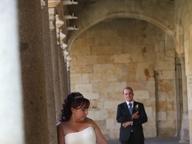 La boda de Alfredo  y María en Salamanca, Salamanca 21