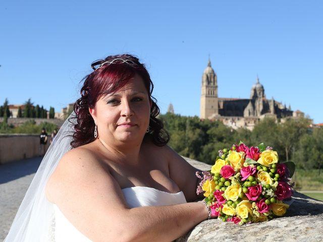 La boda de Alfredo  y María en Salamanca, Salamanca 24