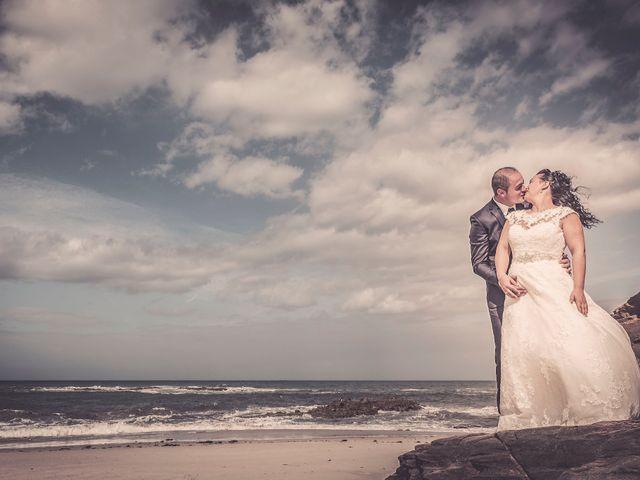 La boda de Uxía y Moncho