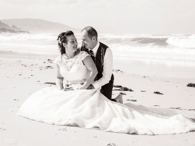 La boda de Moncho y Uxía en Goiriz, Lugo 15