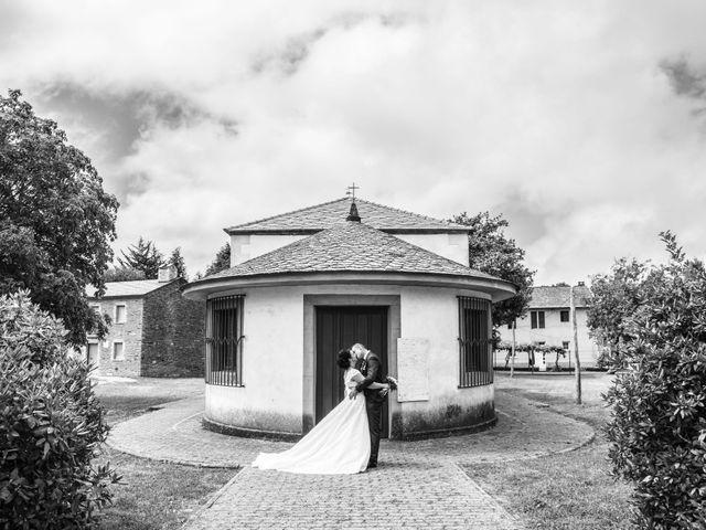 La boda de Moncho y Uxía en Goiriz, Lugo 16