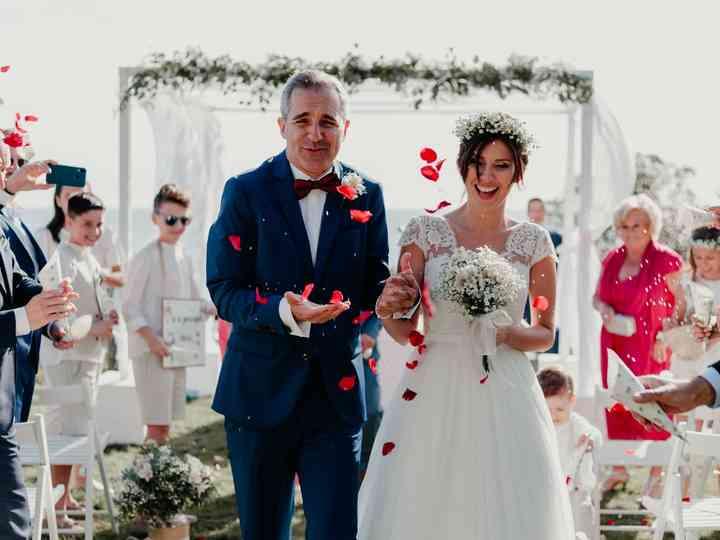 La boda de Lady y Berti