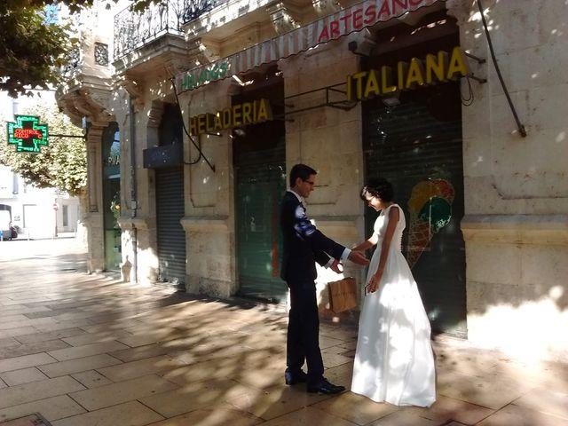La boda de Alberto y Itciar en Burgos, Burgos 1