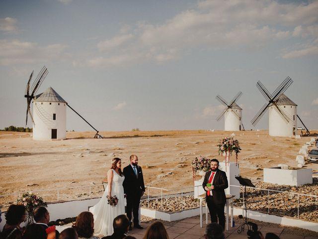 La boda de Quique y María en Campo De Criptana, Ciudad Real 60