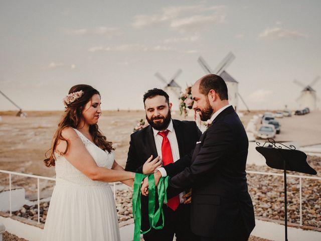 La boda de Quique y María en Campo De Criptana, Ciudad Real 69