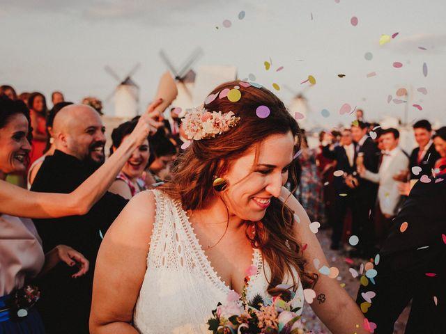 La boda de Quique y María en Campo De Criptana, Ciudad Real 76
