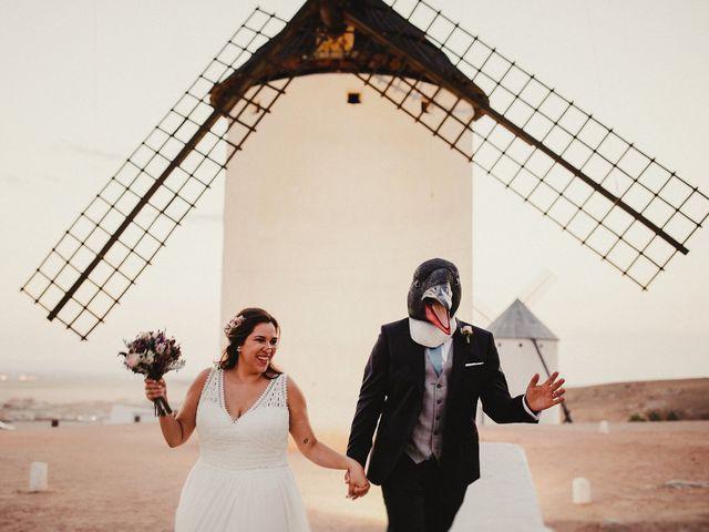 La boda de Quique y María en Campo De Criptana, Ciudad Real 85